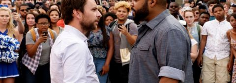 "Charlie Day and Ice Cube play a pair of squabbling teachers settling their beef the hard way in ""Fist Fight,"" a 2017 Warner Brothers comedy."