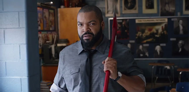 "Ice Cube stars in ""Fist Fight,"" a 2017 Warner Brothers comedy."