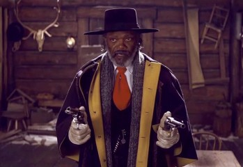 "Samuel L. Jackson stars in ""The Hateful Eight,"" a 2015 Weinstein Company release and the latest from writer-director Quentin Tarantino."