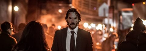 "Keanu Reeves reprises his role as badass assassin John Wick in ""John Wick: Chapter Two,"" a 2017 Summit-Lionsgate release directed by Chad Stahelski."