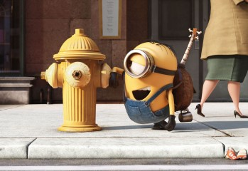 The new movie Minions is a spinoff of Despicable Me