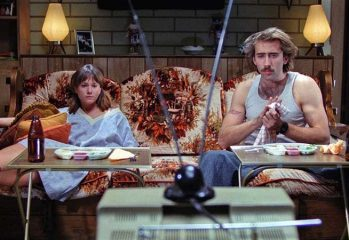 "Holly Hunter (left) and Nicolas Cage star in ""Raising Arizona,"" a 1987 film directed by Joel Coen and produced by Ethan Coen."