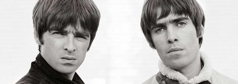 """Through reams of archival footage, A24's """"Oasis: Supersonic"""" takes a look at the Britpop band fronted by brothers Noel (left) and Liam Gallagher."""