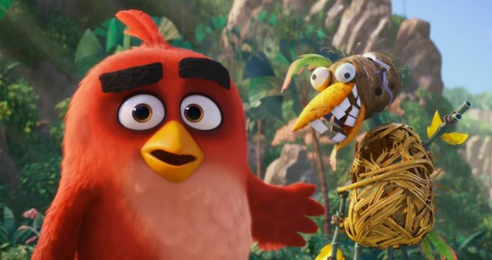 The Angry Birds Movie - inside