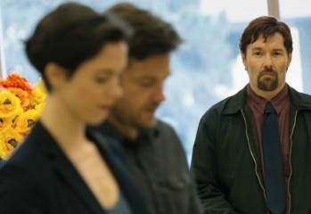 "Rebecca Hall, Jason Bateman and Joel Edgerton (who also wrote and directed) star in ""The Gift,"" a 2015 psychological thriller from STX Entertainment."