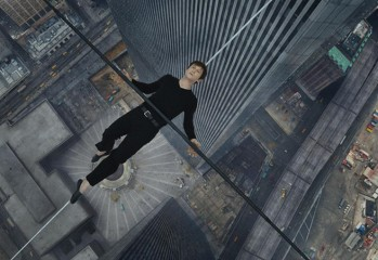 "Joseph Gordon-Levitt stars as Philippe Petit in Tri-Star Pictures' ""The Walk"" — director Robert Zemeckis's 3-D depiction of Petit's legendary walk between the World Trade Center towers."