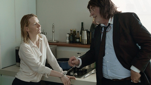 "Ines (Sandra Hüller) and Winfried (Peter Simonischek) struggle to reconcile their father-daughter relationship in ""Toni Erdmann,"" a 2016 Sony Pictures Classics release."