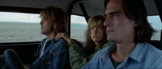 Two-Lane Blacktop - inside