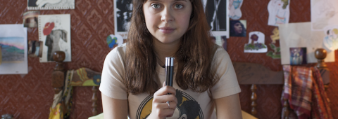 """Bel Powell stars as Minnie in the new movie """"Diary of a Teenage Girl"""""""