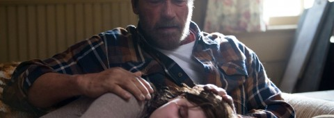 """Arnold Schwarzenegger and Abigail Breslin star in """"Maggie"""" (2015), now available on DVD & Blu-ray."""