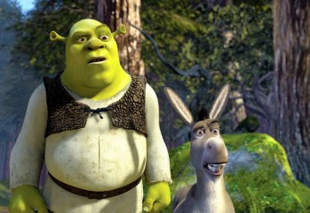 SHREK 2, Shrek, Donkey, 2004, (c) DreamWorks/courtesy Everett Collection