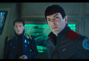 Star Trek Beyond stars Zachary Quinto and Chris Pine